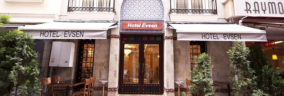 هتل اِوسِن استانبول ترکیه - ارزانترین هتل های استانبول