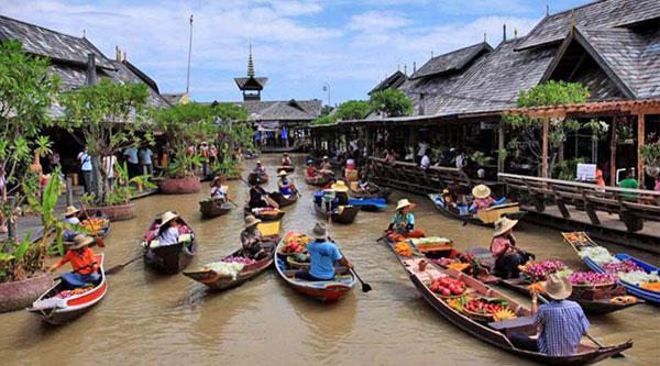 بازارچه شناور پاتایا -Pattaya Floating Market