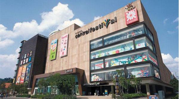مرکز خرید سنترال فستیوال پاتایا-Central Festival Pattaya