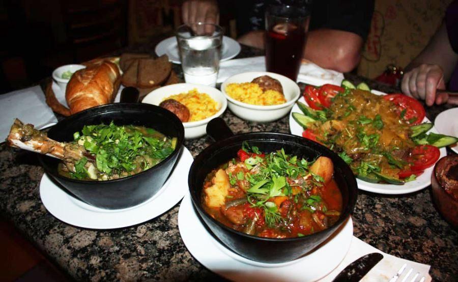 معرفی بهترین غذاهای گرجستان - چاناخی
