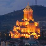 کلیسای تثلیث (کلیسای جامع سامبا) - تفلیس - گرجستان