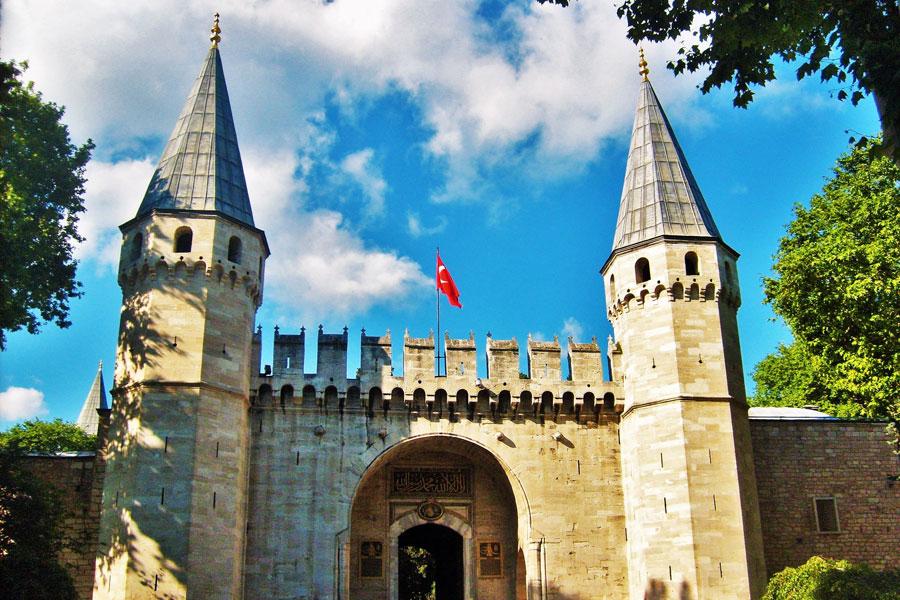 کاخ موزه توپکاپی استانبول ترکیه